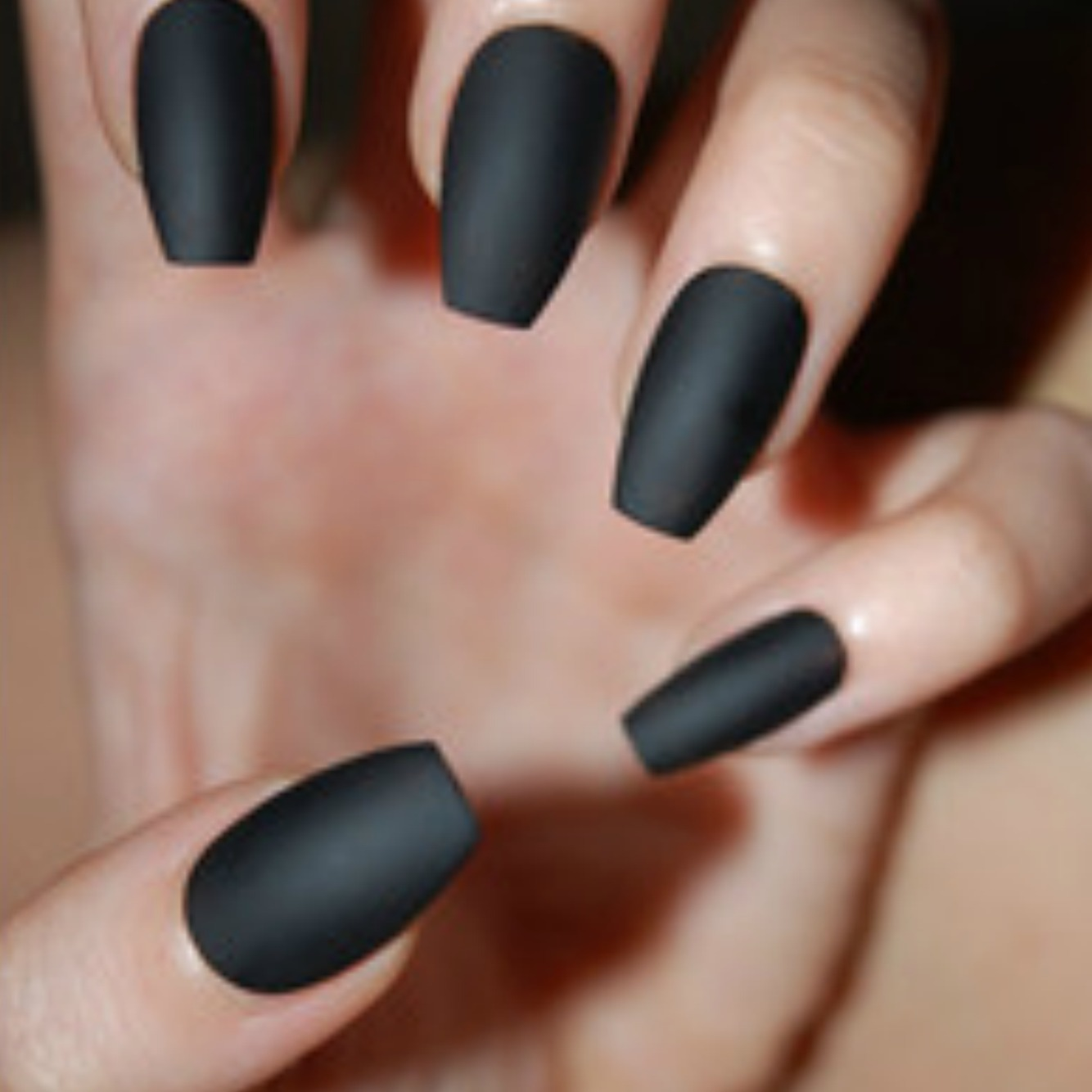 Nail Trends: Coffin Nails -